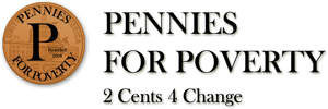 Pennies for Poverty logo